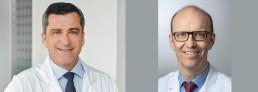 v.l.n.r.: PD Dr. Daniel M. Frey, Präsident CGZH Prof. Dr. Stefan Breitenstein, Vizepräsident CGZH